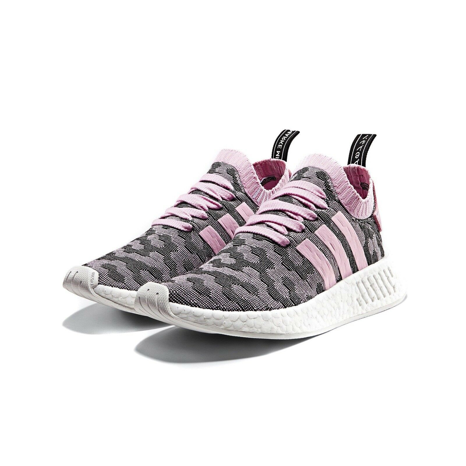 new products f2221 aabee Adidas Women s NMD R2 NMD R2 NMD R2 PRIMEKNIT SHOES NEW AUTHENTIC Wonder Pink  BY9521 Size 10 de1f92