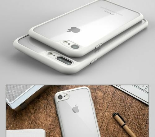pretty nice 01a16 8eefd Luxury Ultra Slim Shockproof Bumper Case Cover for Apple iPhone X 8 5 7 6s  Plus White iPhone 7
