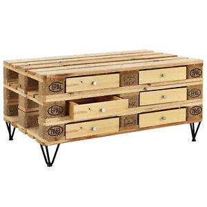 Details zu [en.casa] Schublade für Europaletten Regal Kommode Couchtisch  Paletten Möbel DIY