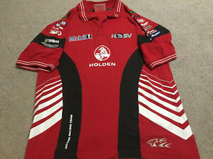 Holden-Racing-Team-V8-Supercars-Polo-Small-HRT-Vintage-2004-Unknown-Signature