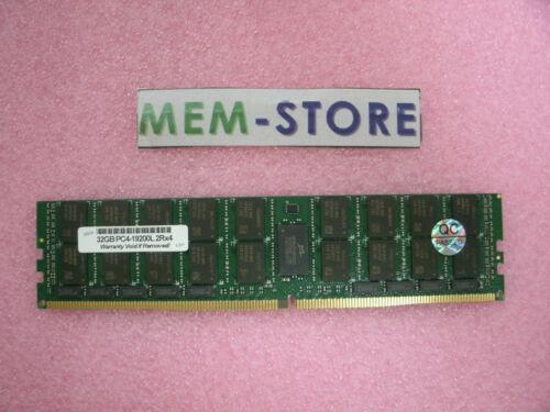 805353-B21 32GB DDR4 2400MHz LRDIMM Memory HP Proliant DL120 DL160 DL180 G9