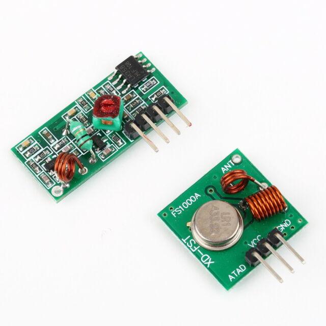 433Mhz RF transmitter receiver link kit for Arduino/ARM/MCU remote control  BU