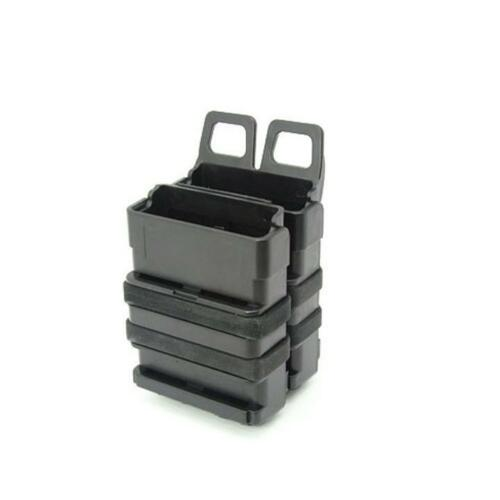 Fast Attach Mag Magazine Pouch Molle System for M4 BK (5.56) for airsoft