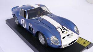 Ferrari 250 Gto 1962 Echelle 1/12 Revell 08855 N. 3987 Gt # 24 Rare Blue 2500 Pièces