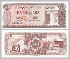 Guyana 10 Dollars 1992 p23f unz.