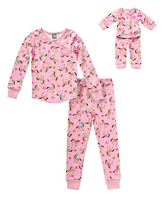 Dollie /& Me Girl 2-14 and Doll Matching Christmas Pajamas Outfit American Girl
