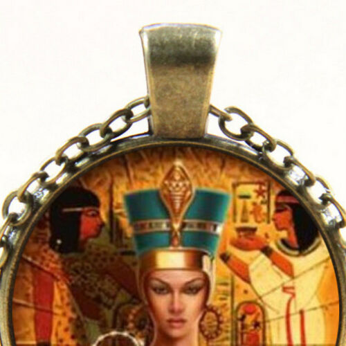 Crook and Flail of Ancient Egypt New Cleopatra Egyptian Queen Pendant Necklace