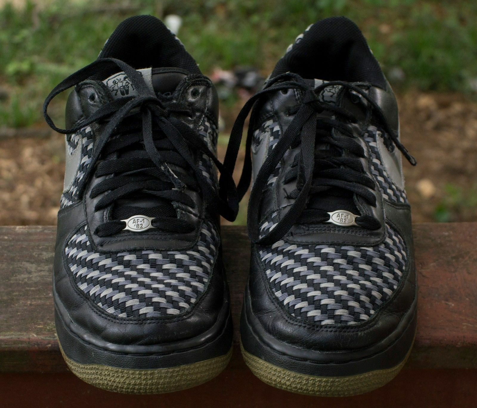 NIKE Air Force 1 Premium BHM 309096-001 Medium Greym LT Graphite Sz 11
