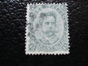 Italy-Stamp-Yvert-and-Tellier-N-42-Obl-A11-Stamp-Italy-I