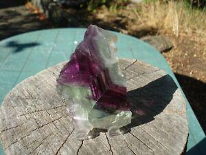 Fluorite-Purple-Green-Rainbow-Slice-Vibrant-Colors-3rd-Eye-Intuition-Renewal