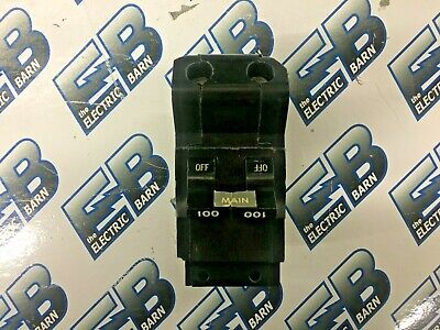 FPE 100 AMP 2 POLE CIRCUIT BREAKER 120//240 VAC NB2100