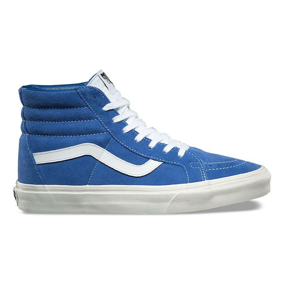 VANS DELFT SK8 HI REISSUE RETRO SPORT DELFT VANS BLUE TRUE WHITE TRAINERS c093a9