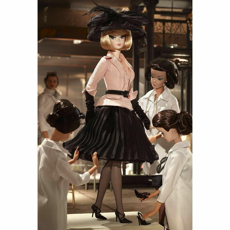 Traje de Barbie Silkstone por la tarde en tejido con embarcador de fábrica en Caja Original BFC Exclusivo