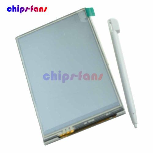 "3.5/"" 3.5 Inch TFT LCD Touch Screen 320x480 SPI RGB Display for Raspberry Pi B B+"