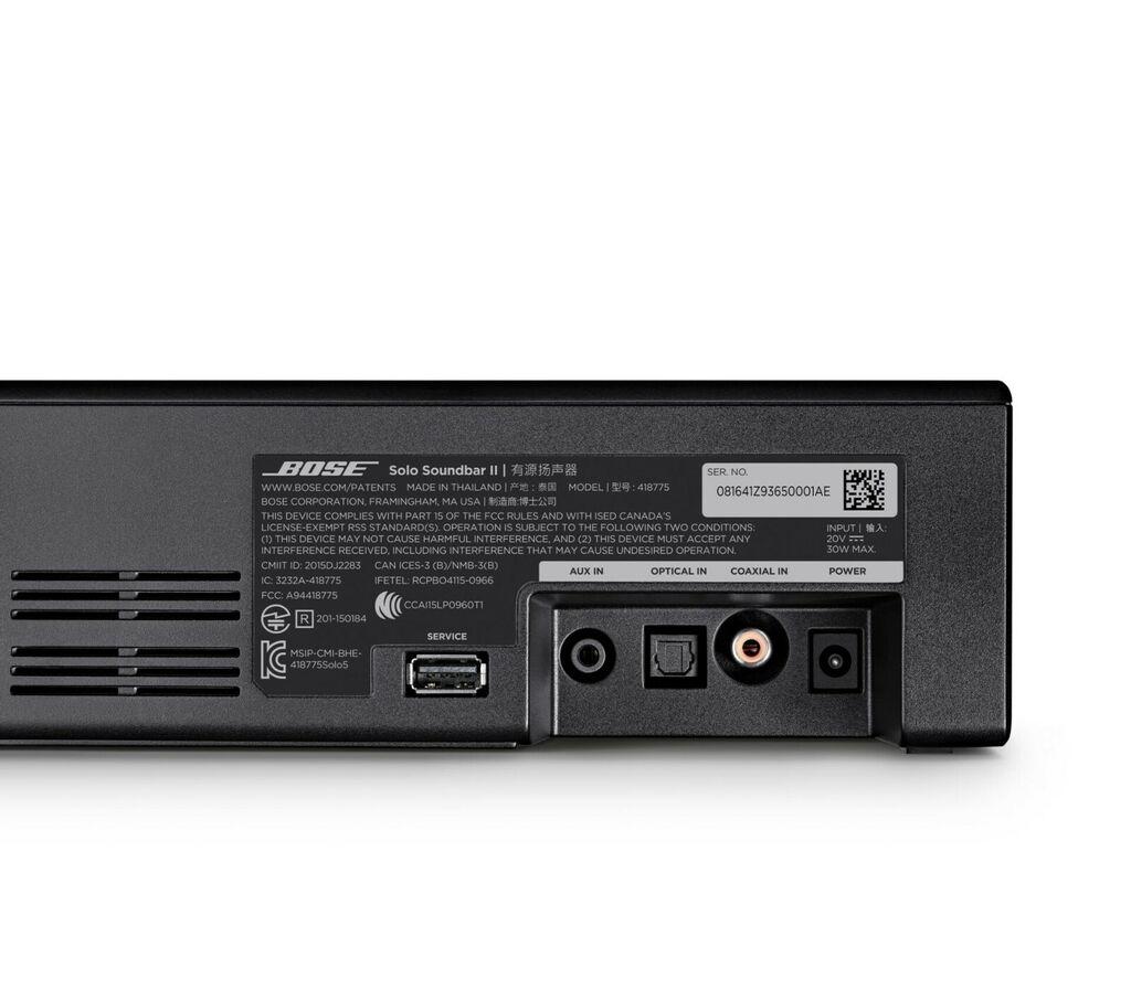 Bose Solo Soundbar II, Certified Refurbished 17817827331 | eBay