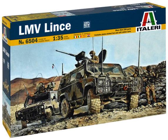 Italeri 1 35 LMV Lince NEW TOOLING  Plastic Model Kit