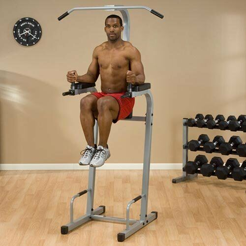 Powerline greenical Knee Raise  And Dip Station Pvkc83X  100% free shipping