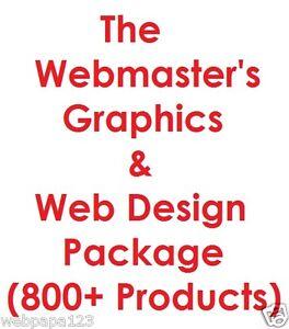 Webmaster-039-s-Graphics-amp-Web-Design-Pro-Package-Internet-Business-6GB