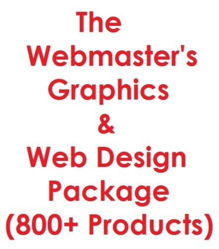 Webmaster/'s Graphics /& Web Design  Pro Package 6GB Internet Business