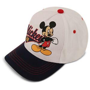 La foto se está cargando Disney-Mickey-Mouse-Algodon-Gorra-de-beisbol-los- 4dd4ecbf557