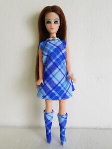 DAWN-DOLL-CLOTHES-Plaid-DRESS-BOOTS-amp-JEWELRY-HM-Fashion-NO-DOLL-dolls4emma