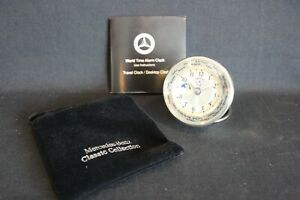 Travel Clock / Desktop Clock: Mercedes-Benz World Time Alarm Clock (JS) #2