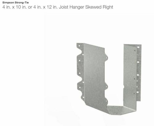Mix /& Match NEW Simpson Skewed Hangers SUL410 // SUR410 6