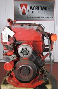 2005-Cummins-ISX-Diesel-Engine-Take-Out-475-HP-Good-For-Rebuild-Only