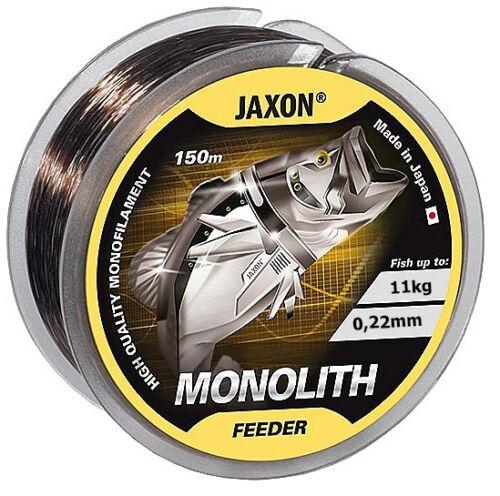 Angelschnur JAXON MONOLITH FEEDER 150m 0,16-0,35mm Spule Monofile Feederschnur