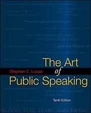 The Art of Public Speaking with Connect Lucas by Stephen E. Lucas (2008, Paperback / Paperback)