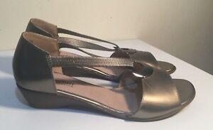 Size-AU-11-EUR-42-UK-9-US-11-Women-039-s-Open-Toe-Footbed-Mini-Wedge-Sandals