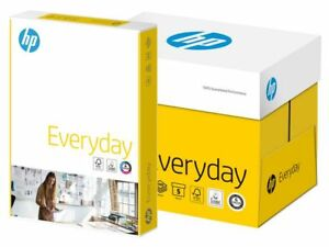 BOX = 5 Reams = 2500 Sheets Printing White Paper A4 80GSM  Printer Copier Office