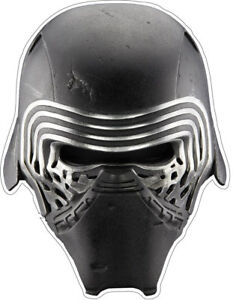 disney star wars kylo ren helmet character custom vinyl bumper sticker decal | ebay