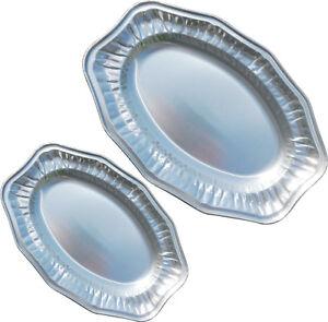 Oval-Aluminium-Foil-Tray-Buffet-Disposable-Party-Serving-Food-Platters-Regal