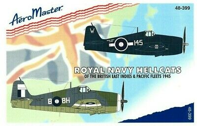 Stickers, Decals & Iron-ons Active 1/48 Aeromaster Decals #48-339 Royal Navy Hellcats 1945-indies & Pacific Fleet Toys & Hobbies