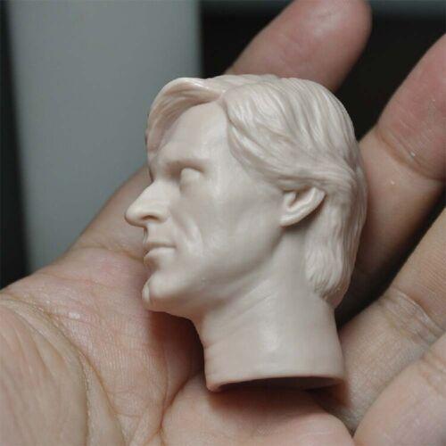 """Details about  /1//6 Unpainted Head Sculpt Batman Double Face Harvey Dante Fit 12/"""" Male Body"""