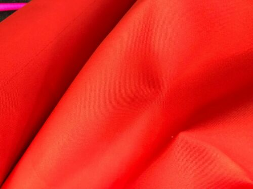 RED 14OZ 182CM COTTON CANVAS WATERPROOF FABRIC Heavy Outdoor Tarpaulins Covers