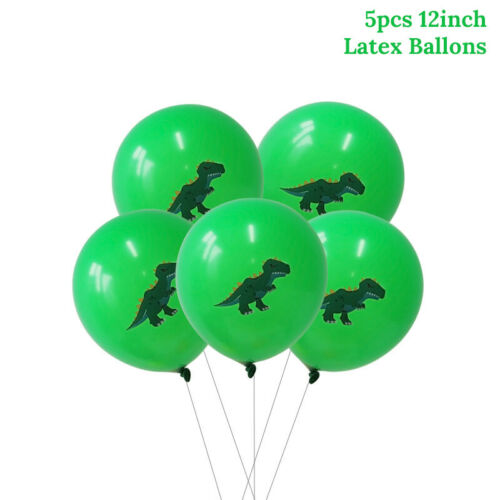 Details about  /Huge 11 piece Dinosaur Jumbo Foil Balloons Birthday Party Decoration UK free P/&P