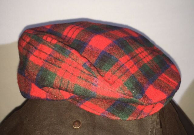 31819f84c46 Mens Cabbie Newsboy  amp  Ascot Ivy Hat Cap Wool Plaid Gatsby Golf ...