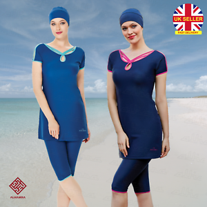 AlHamra-AL3044-Capri-Modest-Burkini-Women-Swimwear-Swimsuit-Muslim-Islamic-Swim