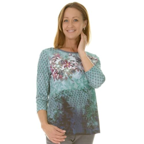 122352 Pink T shirt With Teal 41 qwC48xBv