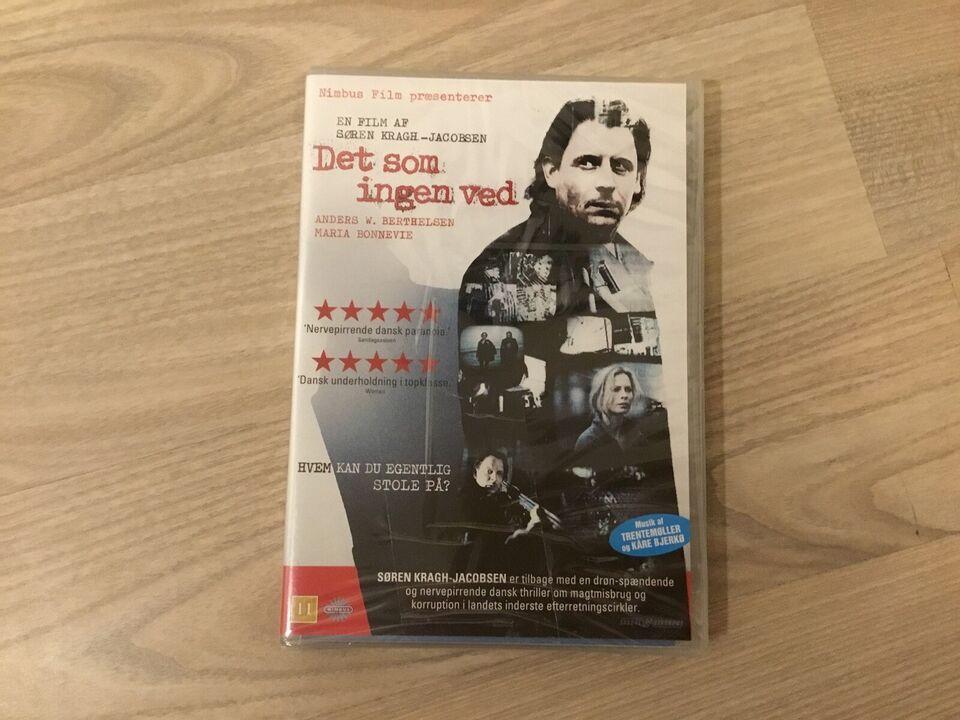 Det som ingen ved , DVD, thriller