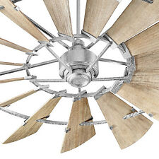 Item 2 Quorum 97215 9 72 Galvanized Windmill Ceiling Fan In Stock Make An Offer