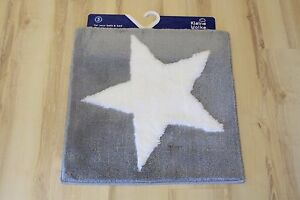 Badteppich Badematte Kleine Wolke Sigma 977 Platin 60x60 cm Stern | eBay