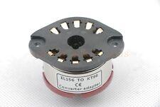 1pc Gold plated Telefunken EL156 TO KT88 tube converter adapter