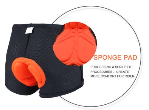 Gel Men/'s 3D Padded Cycling Underwear Lightweight Bicycle Underpants Bike Shorts