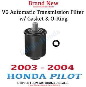 Image Is Loading Genuine OEM Honda Pilot Automatic Transmission Filter ATF