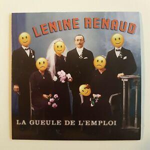 LENINE-RENAUD-LA-GUEULE-DE-L-039-EMPLOI-CD-ALBUM-PROMO