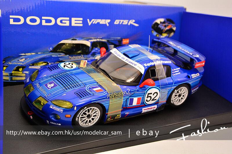 bilkonst 1  18 Dodge VIPER GTS -R LM GTS France 24H 2002