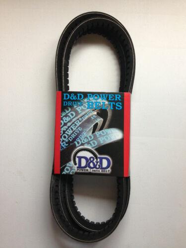 D/&D PowerDrive 6362 Banded Cogged V Belt